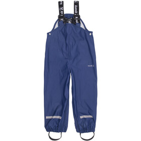 Kamik Muddy Pantaloni con bretelle Bambino, blue depts
